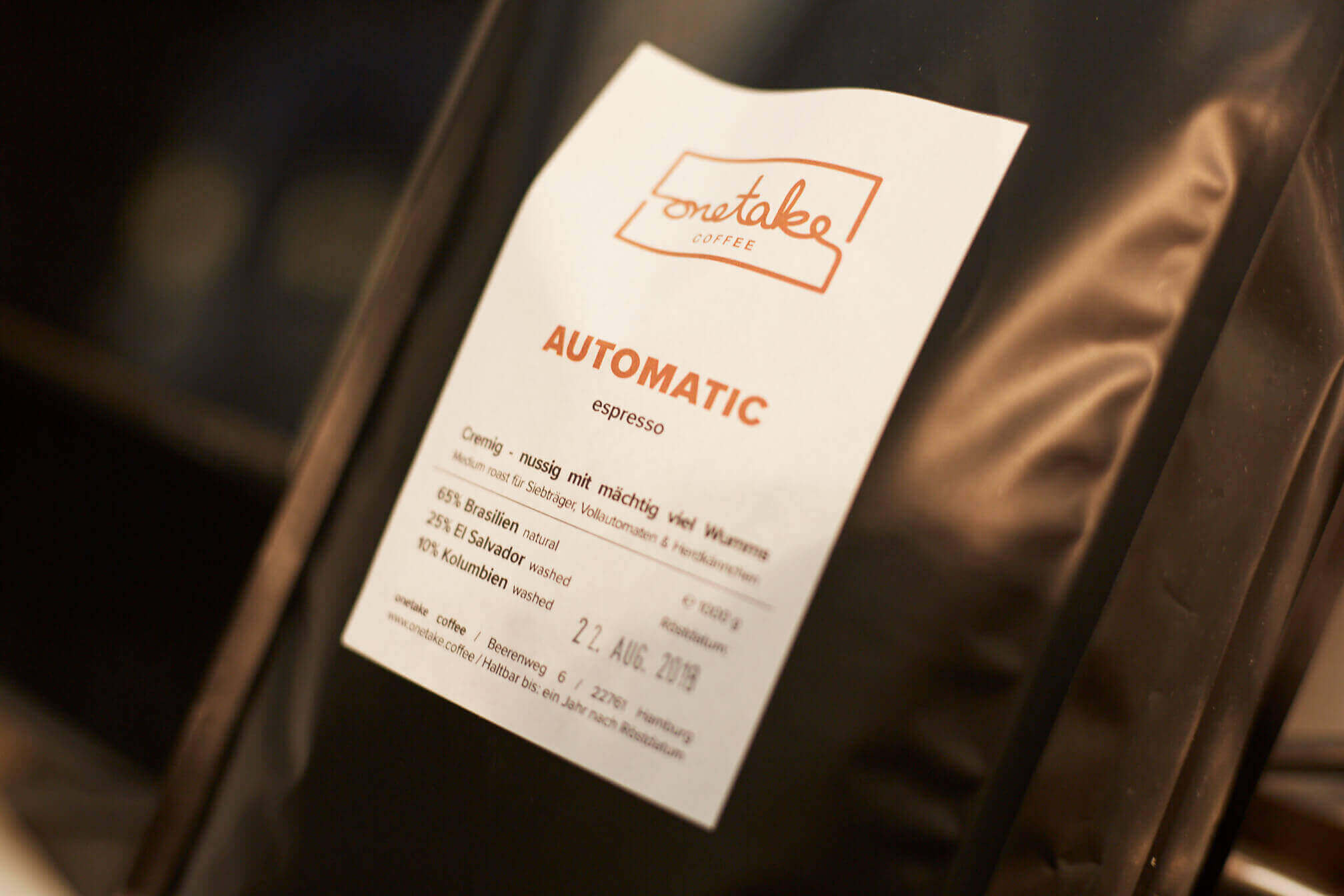 onetake Espressobohnen